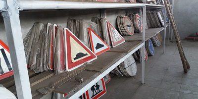 تولید تابلوهای راهنمایی و رانندگی تحویل فوری